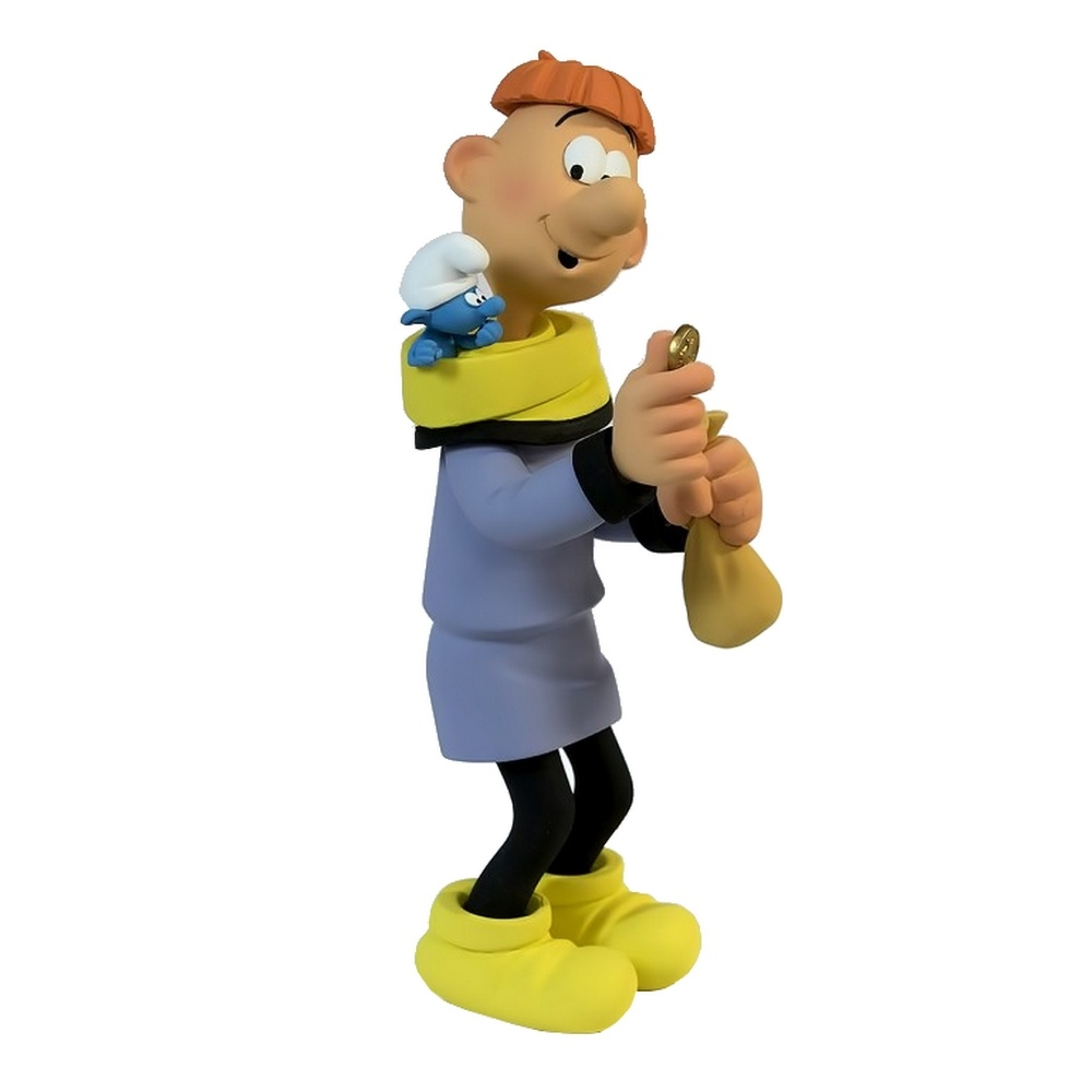 Collectible Figure Fariboles The Smurfs  Oliver and the Finance Smurf (2015)