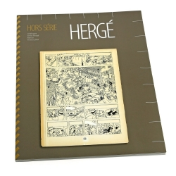 Auction catalogue Hergé in Namur Tintin (2009)