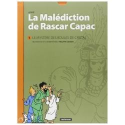Hergé La malédiction de Rascar Capac: Le mystère des boules de cristal (Tomo 1)