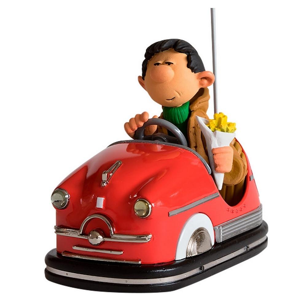 figurine de collection fariboles l 39 auto tamponneuse gaston lagaffe lvf01 2017 bd addik. Black Bedroom Furniture Sets. Home Design Ideas