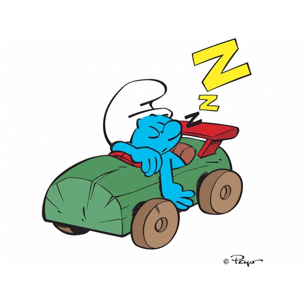 Les schtroumpfmobiles le schtroumpf paresseux figures et - Schtroumpf paresseux ...