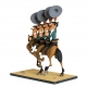 Collectible figure Fariboles Lucky Luke The Dalton on horseback (2017)