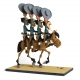 Figura de colección Fariboles Lucky Luke los Dalton a caballo (2017)