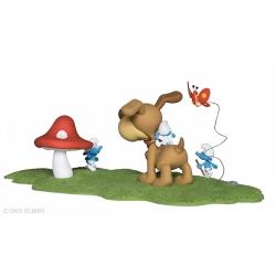 Figurine de collection Fariboles Les Schtroumpfs: Puppy PUPZED (2016)