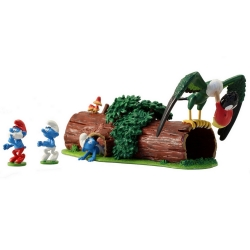 Collectible figure Pixi The Smurfs and the Howlibird ATO212 (2017)