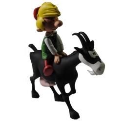 Figurine de collection Johan et Pirlouit: Pirlouit et biquette (2016)