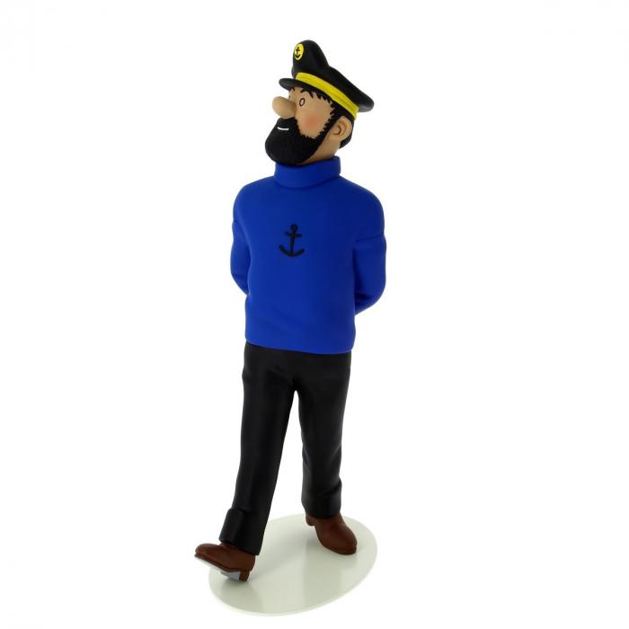 Figura de colección Moulinsart en resina Tintín: Haddock 27cm 46007 (2017)