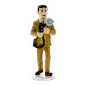 Figurine de collection Tintin Gino Carte de voeux 1972 (46500)
