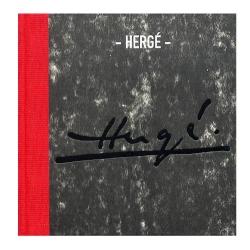 Catálogo del museo Georges Pompidou de Beaubourg Hergé Tintín (2006)