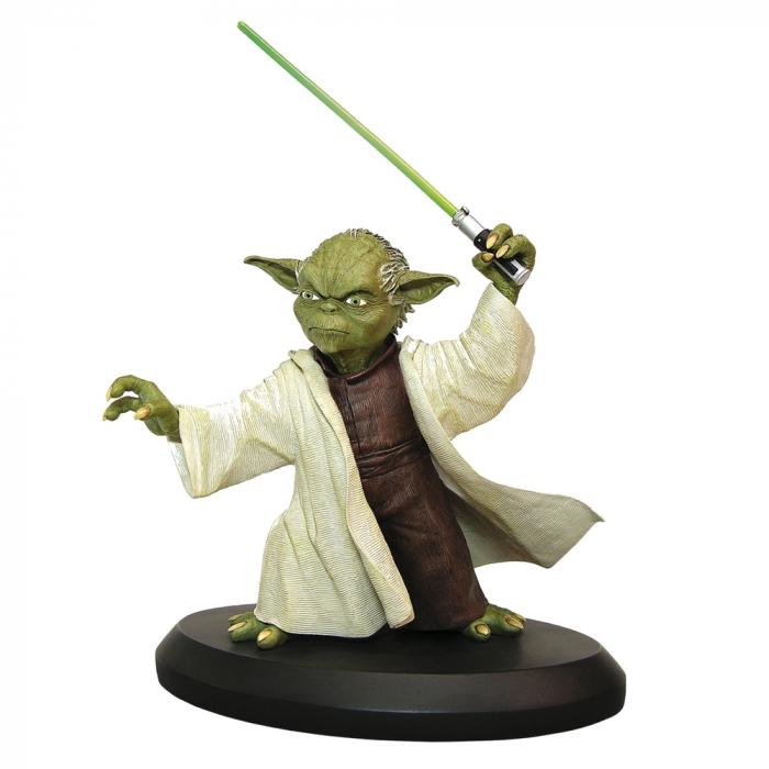 Figurine de collection Star Wars Yoda V3 Attakus 1/10 SW044 (2017)