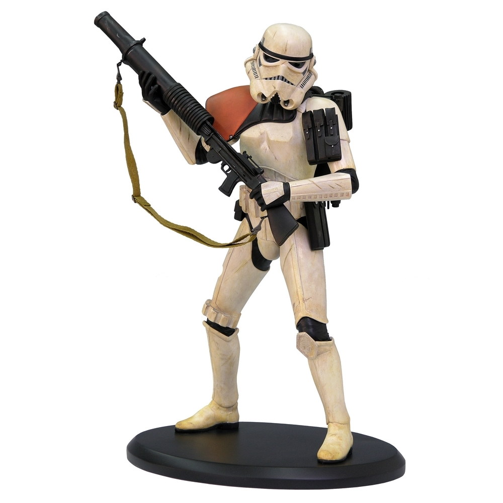 elite collection figure star wars sandtrooper attakus 1 10. Black Bedroom Furniture Sets. Home Design Ideas