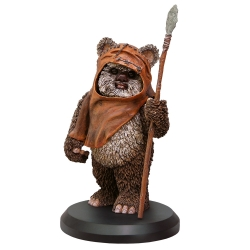 Figura de colección Star Wars Wicket Wystri Warrick Attakus 1/10 SW043 (2017)