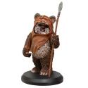 Figurine de collection Star Wars Wicket Wystri Warrick Attakus 1/10 SW043 (2017)
