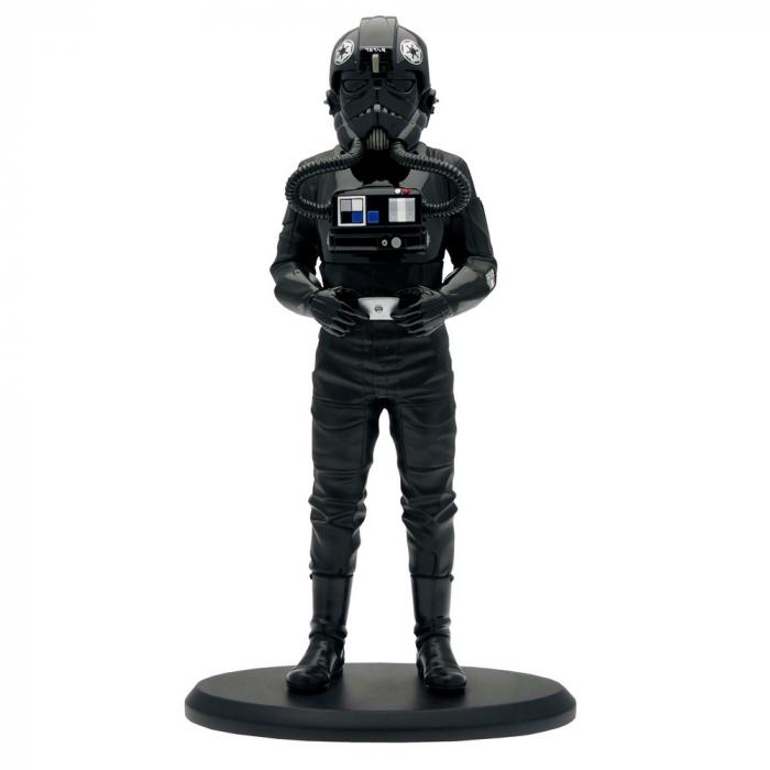 Figurine de collection Star Wars Pilote de chasse TIE Attakus 1/10 SW031 (2017)