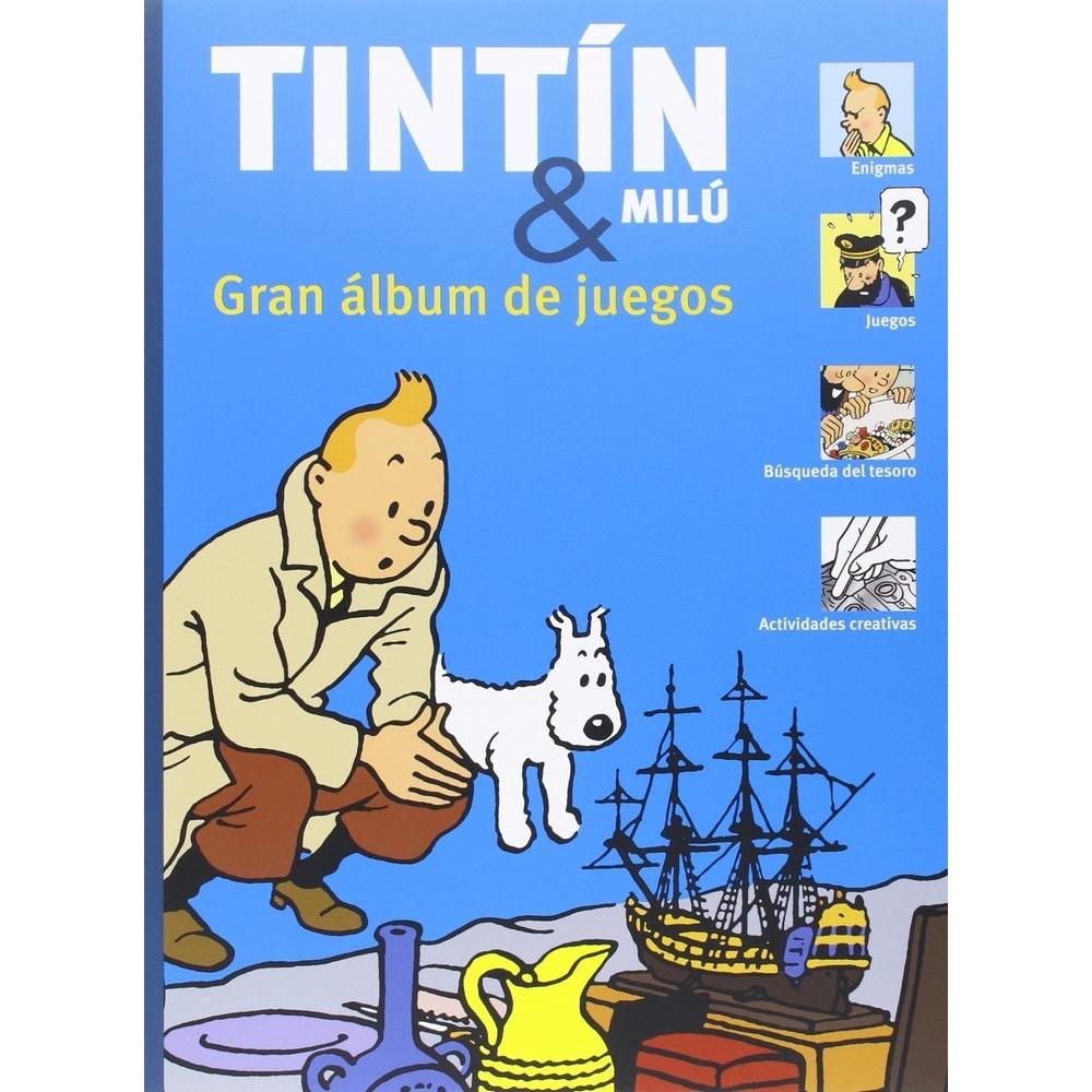 Grand livre jeux des aventures de tintin et milou 288 4 es - Image de tintin et milou ...