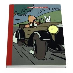 Agenda de bureau 2018 Tintin au pays des Soviets 16x21cm (24362)