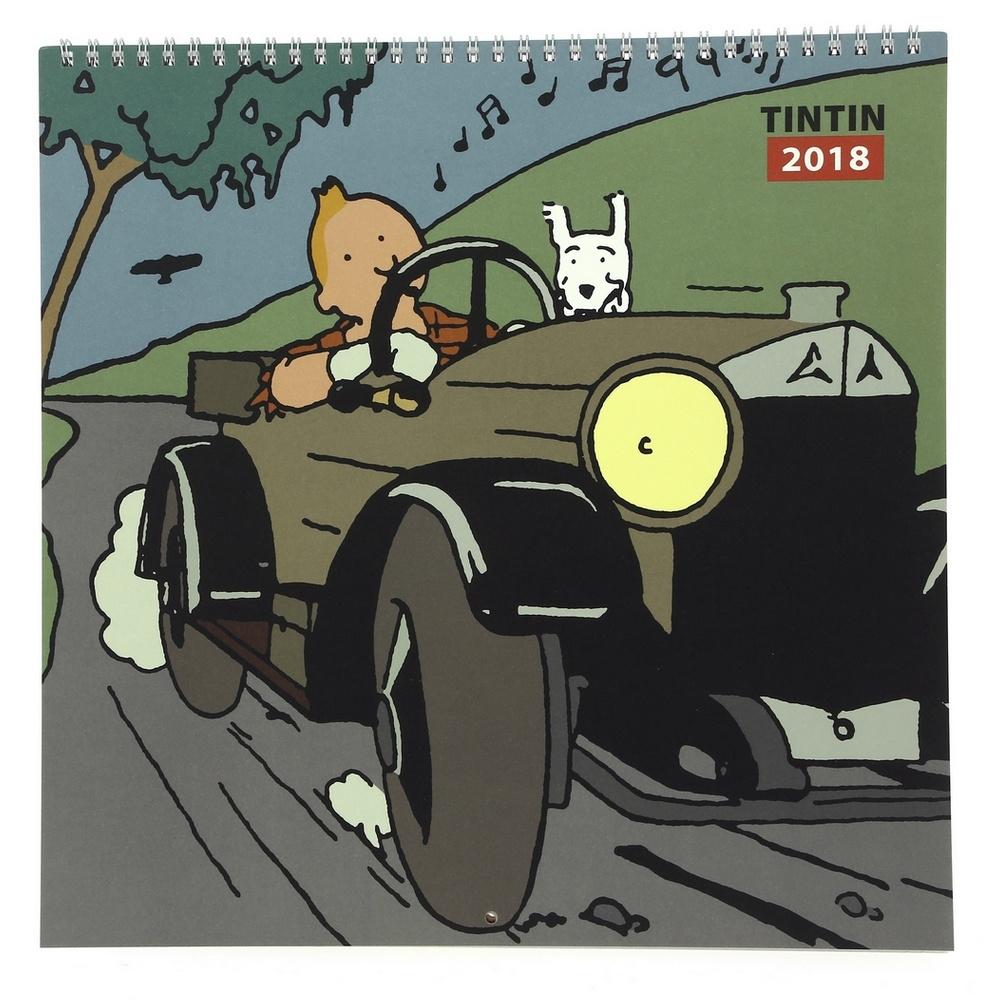 2018 Calendar Tintin in the Land of the Soviets 30x30cm (24359 ...