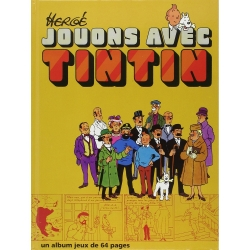 Activity Book Games The Adventures of Tintin: Jouons avec Tintin, Hergé (1991)