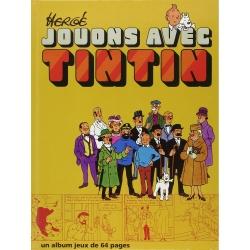 Livre-jeux Casterman des aventures de Tintin: Jouons avec Tintin, Hergé (1991)