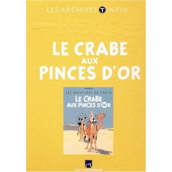 Les archives Tintin Atlas: Le Crabe aux pinces d'or, Moulinsart, Hergé (2011)