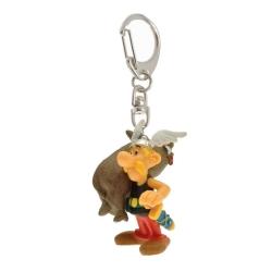 Porte-clés figurine Plastoy Astérix portant un sanglier 60383 (2015)