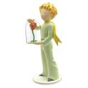 Figurine de collection Plastoy Le Petit Prince avec la rose 00112 (2017)