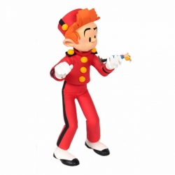 Figura de colección Fariboles Spirou con mini Fantasio en sus manos SPIF (2002)