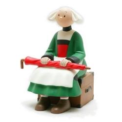 Tirelire figurine Plastoy Bécassine assise avec son parapluie 80004 (2008)
