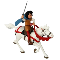 Collectible figure Johan and Peewit: Johan and his horse (2017)