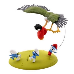 Collectible Figure Fariboles The Smurfs and the Howlibird CRA (2012)