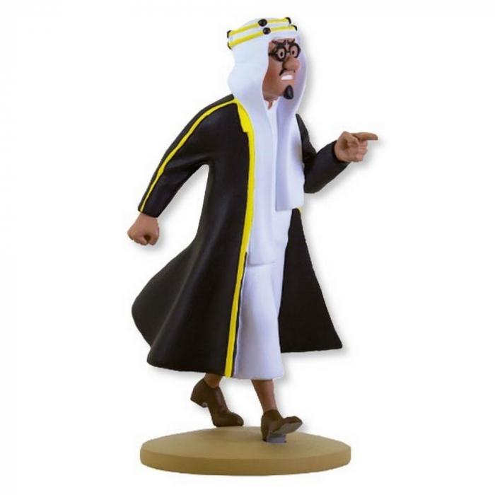 Figura de colección Tintín Mohammed Ben Kalish Ezab 13cm Moulinsart Nº62 (2013)