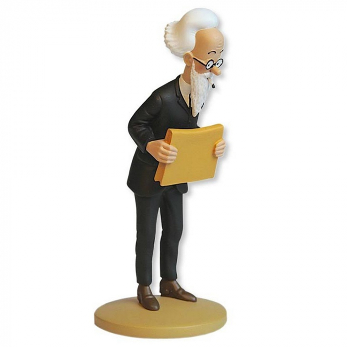 Collection figure Tintin The Professor Alembick 13cm Moulinsart Nº87 (2014)