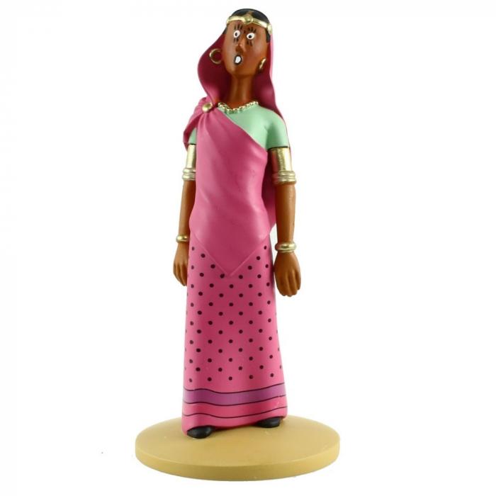 Figura de colección Tintín Yamilah en trance 13cm Moulinsart Nº85 (2014)