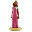 Figura de colección Tintín Yamilah en trance 13cm Nº85 (2014)
