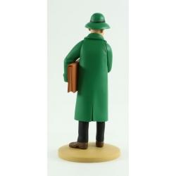 Collection figure Tintin Basil Bazaroff 13cm Moulinsart Nº76 (2014)