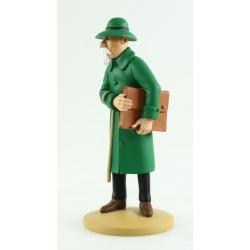 Figura de colección Tintín Basil Bazaroff 13cm Moulinsart Nº76 (2014)