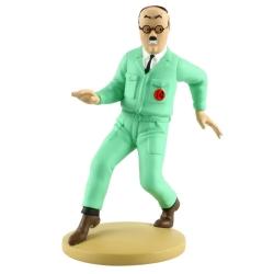 Figurine de collection Tintin Frank Wolf 13cm Moulinsart Nº75 (2014)