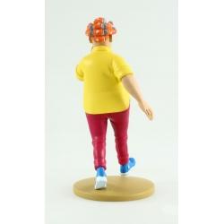 Figurine de collection Tintin Peggy Alcazar 13cm Moulinsart Nº79 (2014)