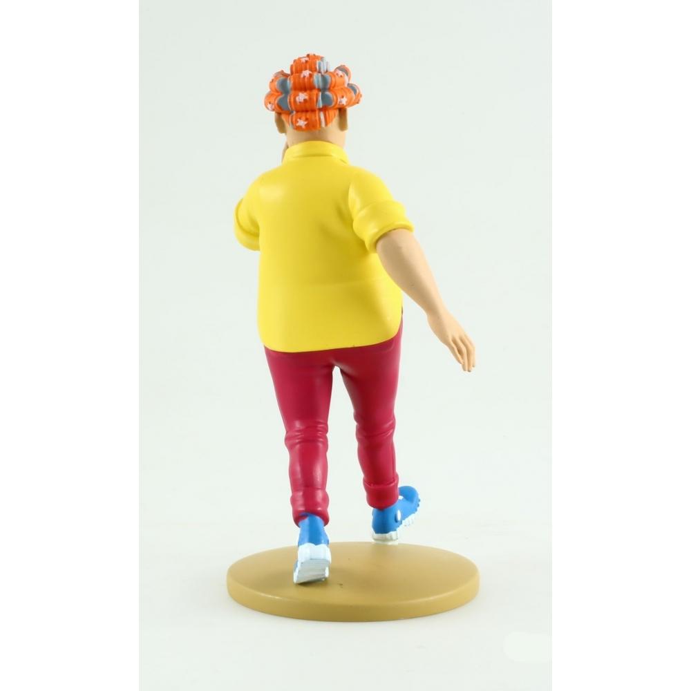 2014 Figura de colección Tintín Peggy Alcazar 13cm Librito Nº79