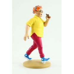 Collection figure Tintin Peggy Alcazar 13cm Moulinsart Nº79 (2014)