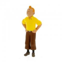 Figura de colección Tintín de pie 6cm Moulinsart 42462 (2011)