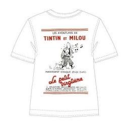 Camiseta 100% algodón Tintín Le Petit Vingtième Tintín Silbando 724002 (2013)