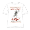 T-shirt 100% cotton Tintin Le Petit Vingtième Tintin and Snowy 724002 (2013)