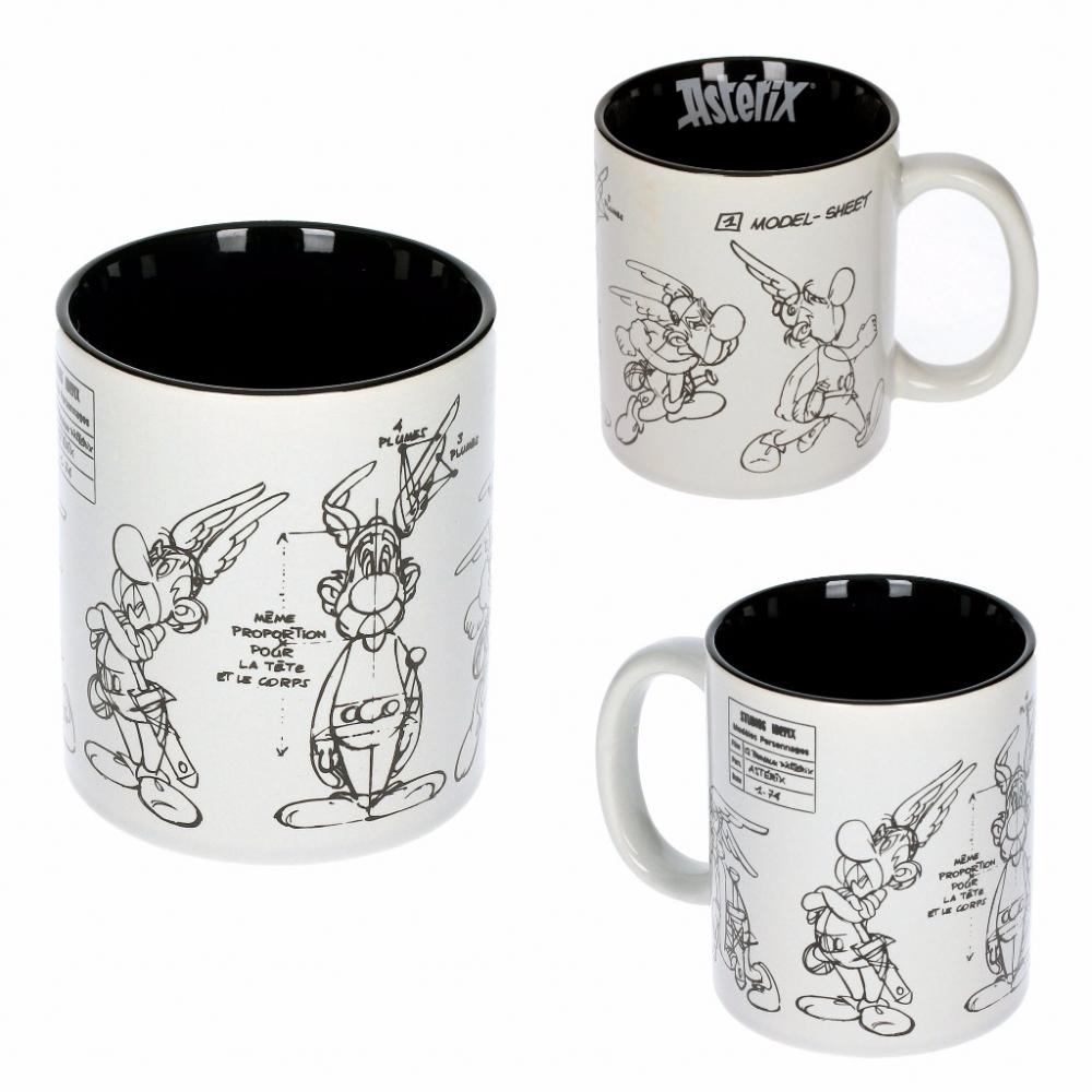 tasse mug en porcelaine sd toys ast rix sketch bd addik. Black Bedroom Furniture Sets. Home Design Ideas