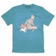Camiseta Le Petit Vingtième Tintín y Milú ils arrivent !! Azul (2017)