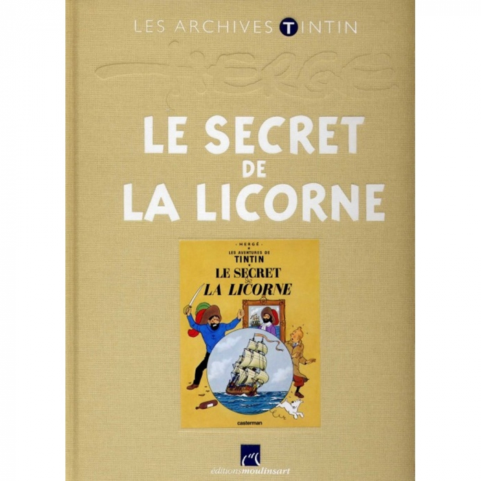 Les archives Tintin Atlas: Le Secret de La Licorne, Moulinsart, Hergé (2010)