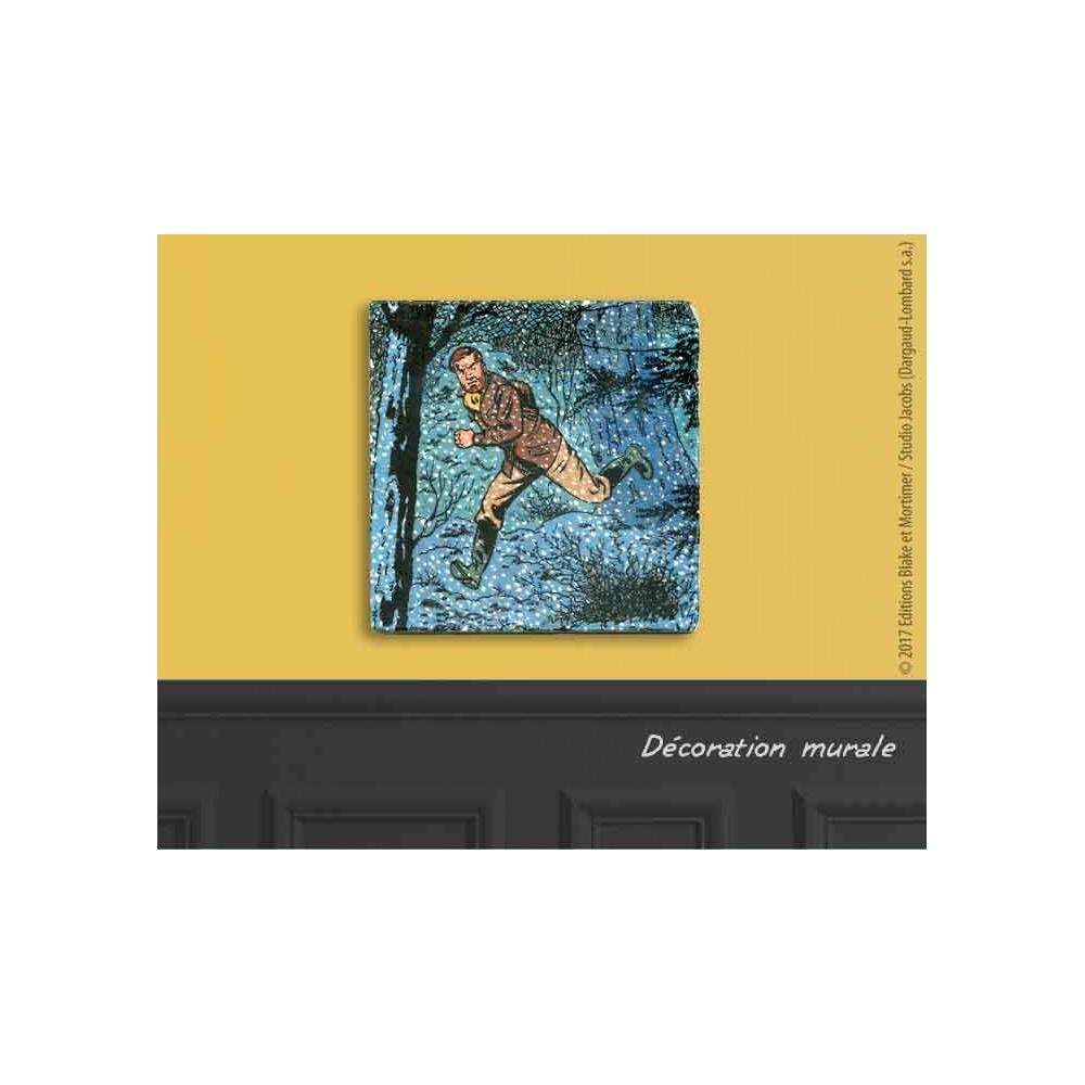 plaque de marbre collection blake et mortimer s o s. Black Bedroom Furniture Sets. Home Design Ideas