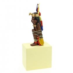 Figurine de collection Tintin La Momie Rascar Capac Moulinsart 29cm 46003 (2017)