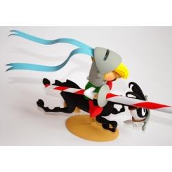 Figura de colección Fariboles Johan y Pirluit La flecha negra LMZ005P (2012)