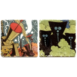 Cofre colección placas de mármol Blake y Mortimer S.O.S. Meteoros
